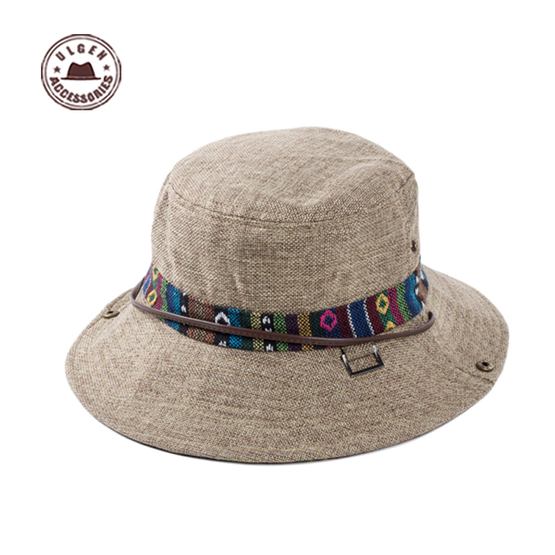 bucket hats for men excellent linen panama hat men cotton hat polo men bucket hats [yjh-f217] TWJLDJC